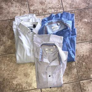 VanHeusen Bundle of 3 shirts Size Small #125